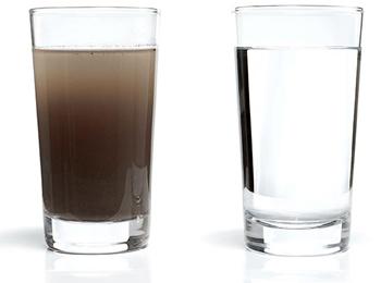 علل تصفیه آب آشامیدنی