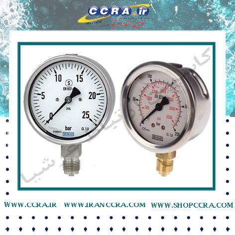مقایسه گیج فشار خشک و گیج فشار روغنی