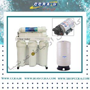 دستگاه تصفیه آب نیمه صنعتی ۷ مرحله ای کلییر واتر