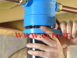تعویض فیلتر آب شیرین کن خانگی