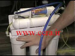 تعویض فیلتر دستگاه تصفیه آب RO