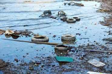 منابع آلودگی آب