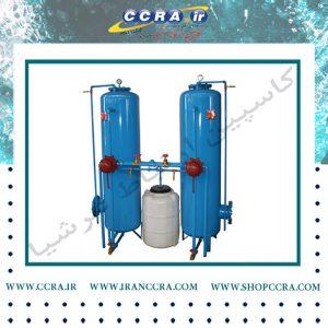 ساخت و فروش دستگاه سختی گیر رزینی softener